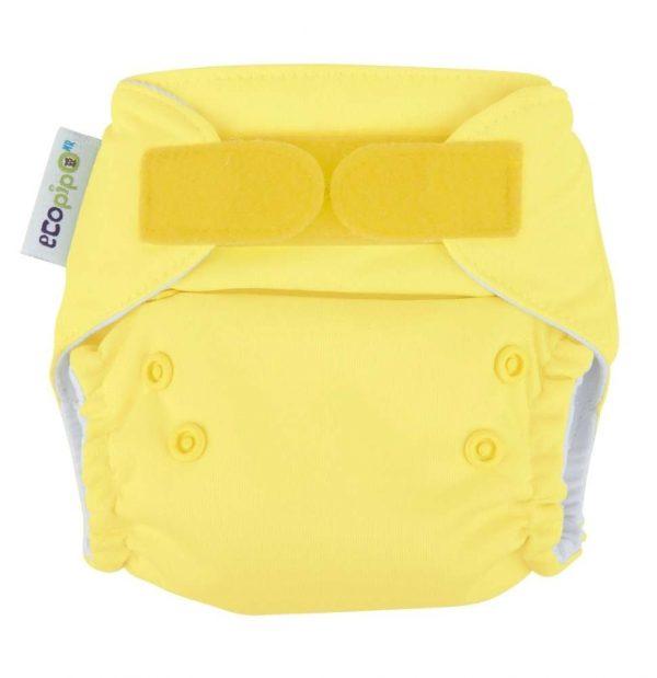 Pañal recien nacido amarillo