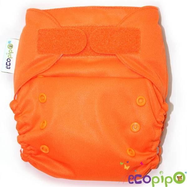 Pañal de Tela tamaño único color naranja