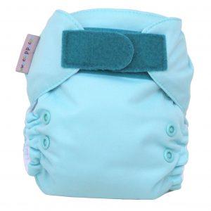Pañal recién nacido turquesa