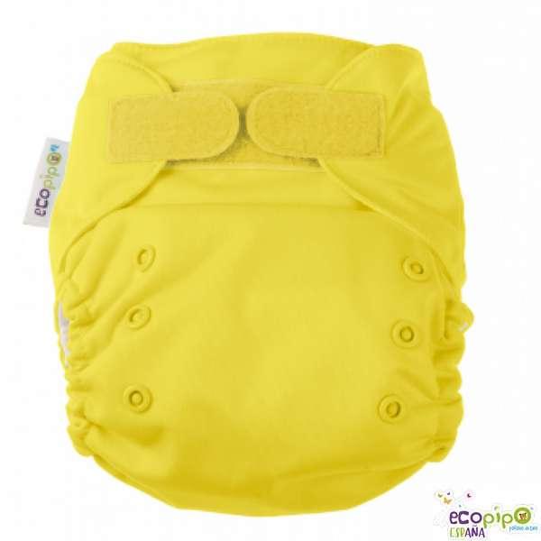 Pañal de tela amarillo